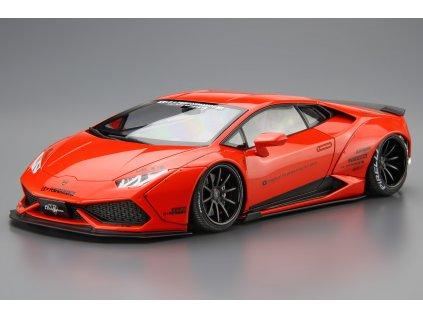 Model Kit auto Aoshima AO05988 - LB-WORKS Lamborghini Huracan Ver.1 (1:24)