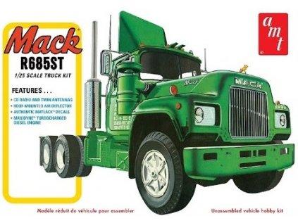 Plastový model kamion AMT 1039 - Mack R685ST Semi Tractor (1:25)