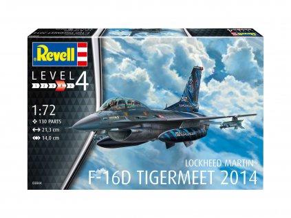Plastový model lietadlo REVELL 03844 - Lockheed Martin F-16D Tigermeet 2014 (1:72)