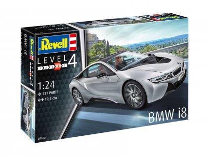 Plastový model auto REVELL 07670 - BMW i8 (1:24)