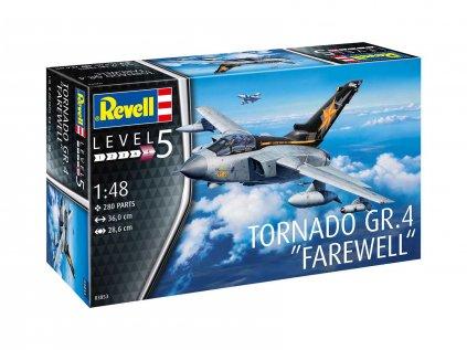 """Plastový model lietadlo REVELL 03853 - Tornado GR.4 """"Farewell"""" (1:48)"""