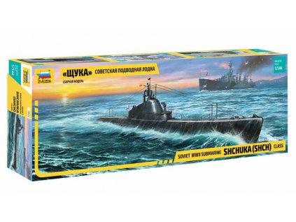 "Model Kit ponorka ZVEZDA 9041 - ""Shchuka"" Class Russian Submarine WWII (1:144)"