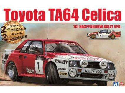 Model Kit auto BEEMAX B24021 - Toyota TA64 Celica '85 Haspengouw Rally Ver. (1:24)