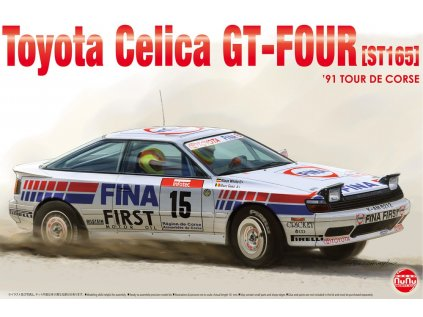 Model Kit auto NUNU PN24015 - Toyota Celica DT-FOUR ST165 Rally 1991 Tour de Corse (1:24)