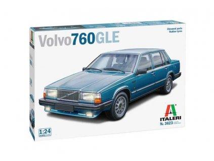 Model Kit auto ITALERI 3623 - Volvo 760 GLE (1:24)