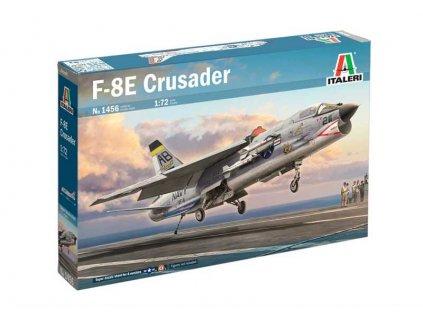 Model Kit lietadlo ITALERI 1456 - F-8E Crusader (1:72)