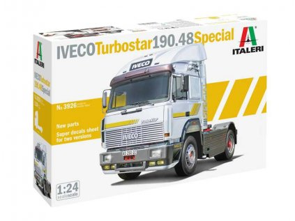 Model Kit kamion ITALERI 3926 - IVECO TURBOSTAR 190.48 SPECIAL (1:24)