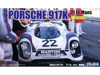 Model Kit auto FUJIMI FU12614 - Porsche 917K '71 Le Mans Winner (1:24)