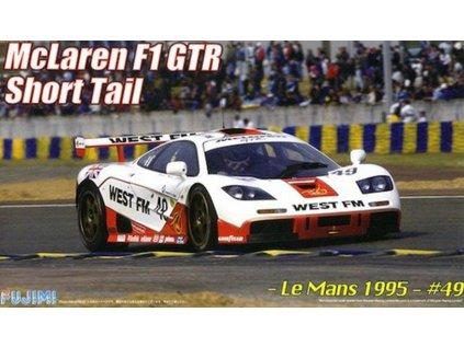 Model Kit auto FUJIMI FU12602 - McLaren F1 GTR Short Tail Le Mans 1995 (1:24)