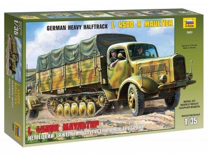 Model Kit military ZVEZDA 3603 - Maultier L4500R Truck (1:35)