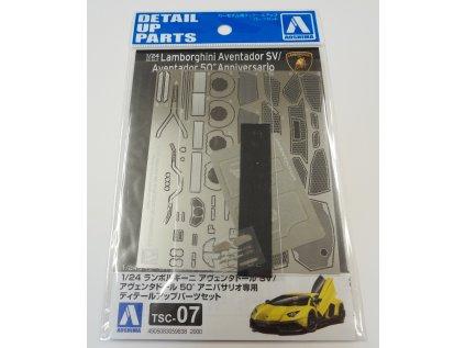 Detail up parts AOSHIMA AO05983 - Lamborghini Aventador SV/Aventador 50 Anniversario (1:24)