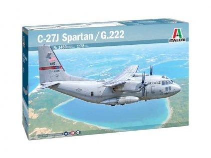 Model Kit lietadlo ITALERI 1450 - C-27A Spartan / G.222 (1:72)
