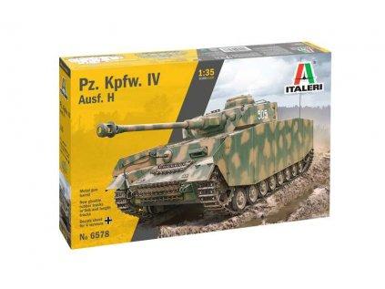 Model Kit tank ITALERI 6578 - Pz. Kpfw. IV Ausf. H (1:35)