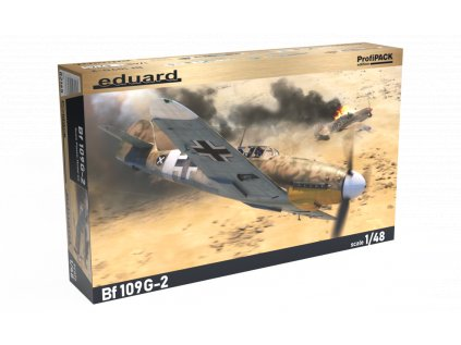 Plastový model lietadlo EDUARD 82165 - Bf 109G-2 1/48