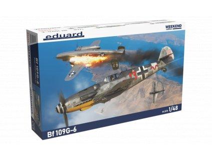 Plastový model lietadlo EDUARD 84173 - Bf 109G-6 1/48