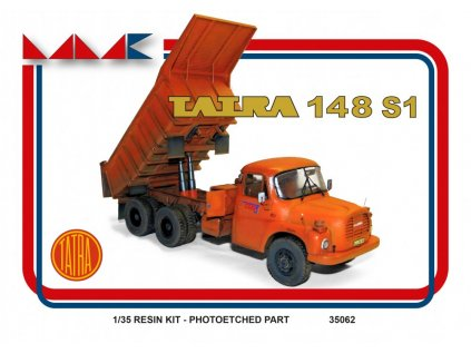 Resinový model kamion MMK 35062 - TATRA 148 S1 (1:35)