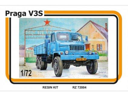 Resinový model kamion MMK 72004 - PRAGA V3S (1:72)