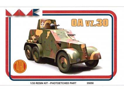 Resinový model military MMK 35050 - TATRA VZ OA 30 (1:35)