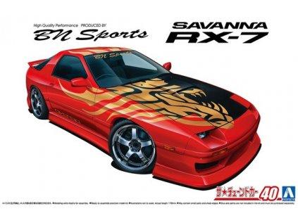 Model Kit auto Aoshima AO06150 - BN Sports FC3S Mazda RX-7 1989 (1:24)