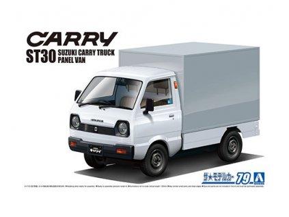 Model Kit auto Aoshima AO06170 - Suzuki ST30 Carry Truck Panel Van '79 (1:24)