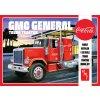 Plastový model kamion AMT 1179 - Coca Cola GMC General (1:25)