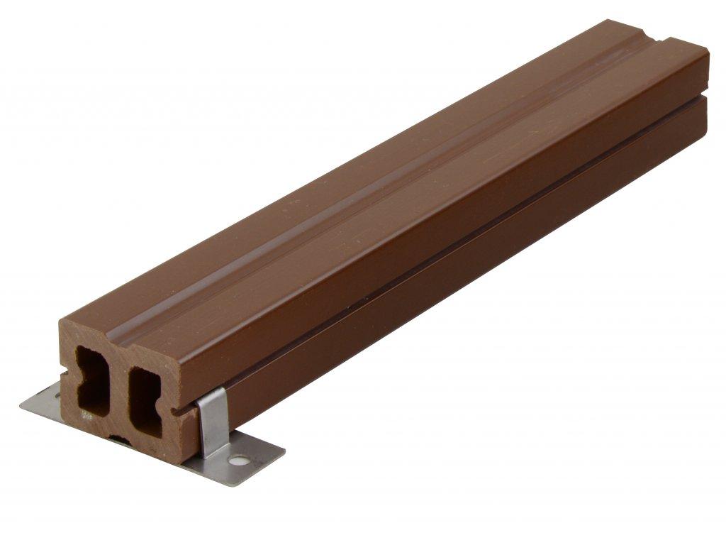 Nosník terasových prken G21 4 x 3 x 300 cm, mat. WPC