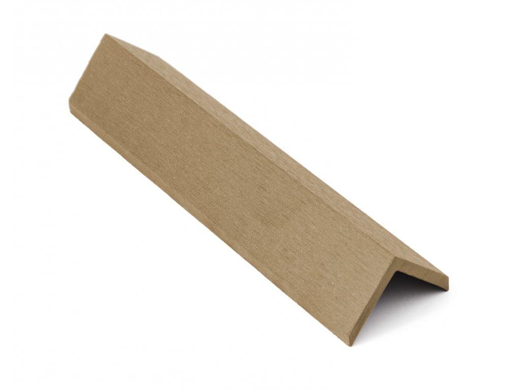 Zakončovácí lišta G21 Cumaru pro palubky, 5,5 x 5,5 x 350 cm