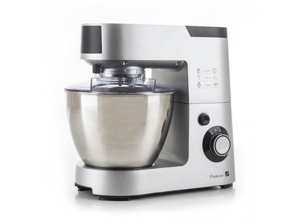 Kuchyňský robot G21 Promesso Aluminium  + Roční předplatné časopisu pro milovníky jídla Prima FRESH, ZDARMA JAKO DÁREK!