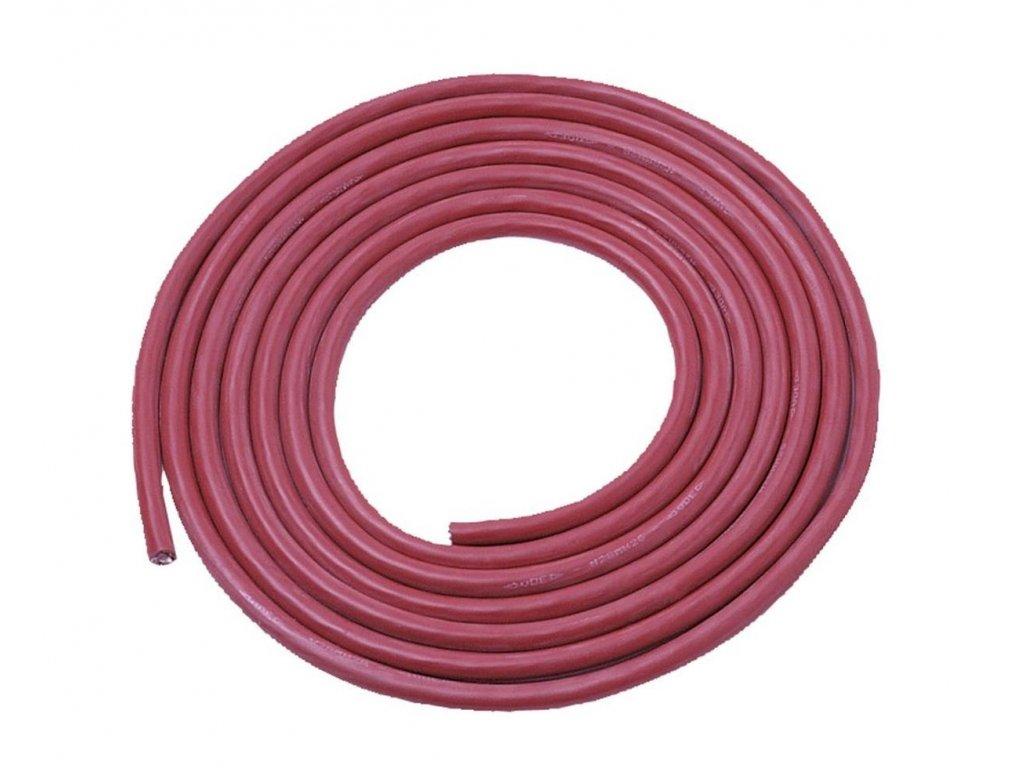 Silikonový kabel 2,5 mm / 3 m pro připojení kamen