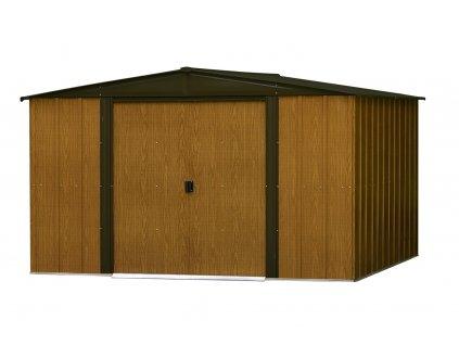 Plechový domek na nářadí ARROW WOODLAKE 108 (7,14 m2)