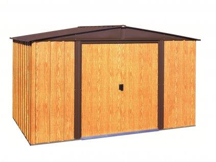 Plechový zahradní domek ARROW WOODLAKE 1012 (11,04 m2)