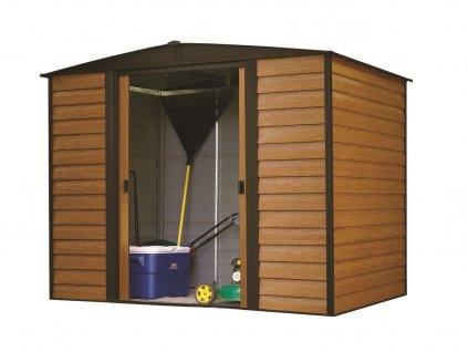 Zahradní domek WOODRIDGE 108 313x242 cm (7,57 m2)  + kotvící sada do betonu v hodnotě 999,00 Kč ZDARMA!