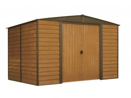 Zahradní domek WOODRIDGE 1012 313x370 cm (11,58 m2)  + kotvící sada do betonu v hodnotě 999,00 Kč ZDARMA!