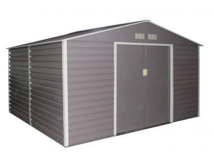Zahradní domek G21 GAH 1085 - 340 x 319 cm, šedý  + kotvící sada do betonu v hodnotě 999,00 Kč ZDARMA!