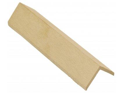 Zakončovácí lišta G21 Cumaru 4,5 x 4,5 x 300 cm, mat. WPC