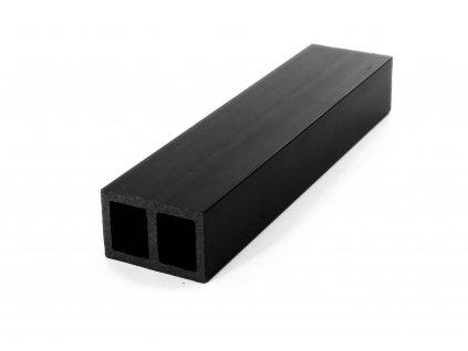 Nosník terasových prken G21 6 x 4 x 280 cm, mat. WPC Black