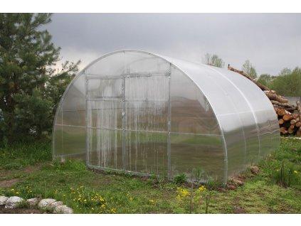 skleník LANITPLAST URAL 4x4 m PC 10 mm  + Automatický otvírač oken, v hodnotě 999,00 Kč ZDARMA!