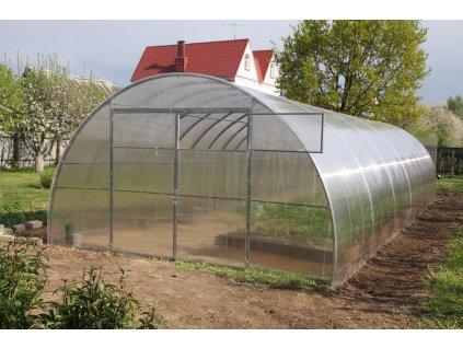 skleník LANITPLAST URAL 4x12 m PC 10 mm  + Automatický otvírač oken, v hodnotě 999,00 Kč ZDARMA!