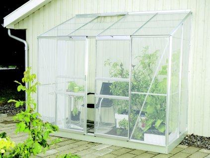 skleník VITAVIA IDA 3300 PC 4 mm stříbrný