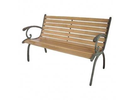 Zahradní lavička 123x54x77 cm