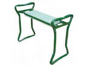 Zahradní stolička + klekátko 2v1