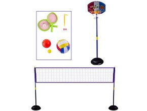 Multifunkční Hrací set Víceúčelová hrací síť 4v1