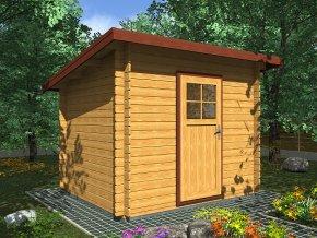 Zahradní domek na nářadí ROBIN EKO-300x250 cm
