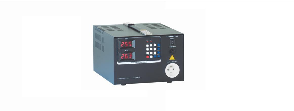 Střídavý laboratorní zdroj AC250K2D 0 - 255 V AC