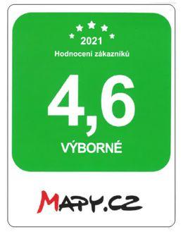 Hodnocení Hobbytechnik.cz na Mapy .cz