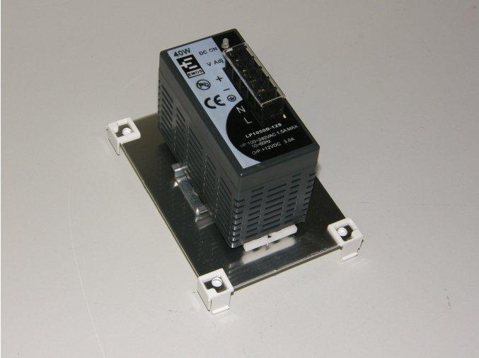Modul VarioClick, Videovrátný - pulsní napájecí zdroj DC12V/3A na DIN lištu