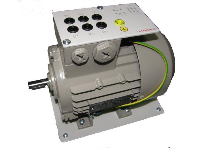 Elektromotor třífázový na napětí 3x42/72V