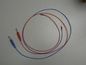 Experiment 2D propojovací vodiče