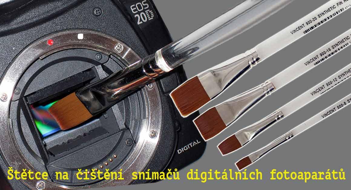Naše řešení pro čisté snímače digitálních fotoaparátů