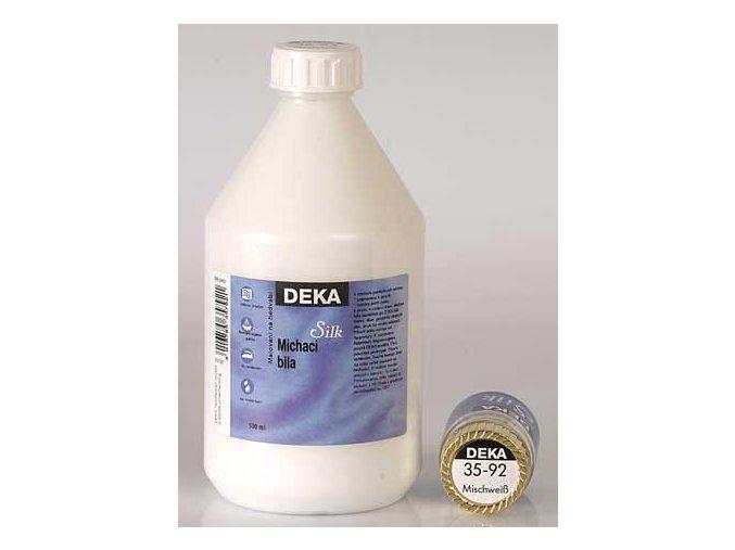 Barva na hedvábí Deka Silk 35-92 míchací bílá 500 ml